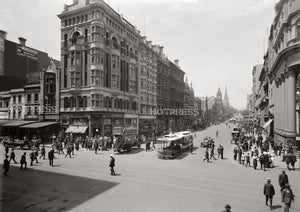 1914c Collins Street Looking East