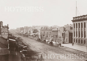 1858 Swanston Street Looking North