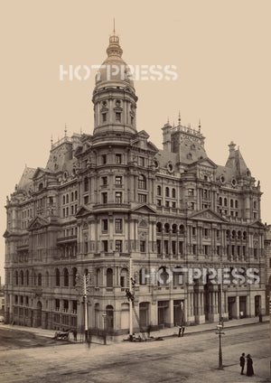 1892 Federal Hotel and Coffee Palace Collins Street