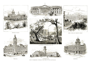 1885 Views of Melbourne