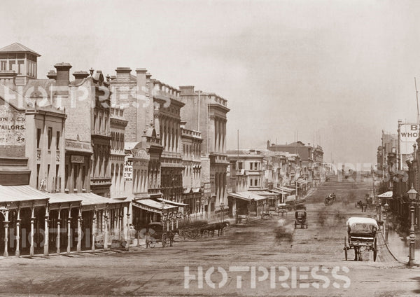 1872 Collins Street looking West