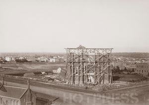 1861 St Patrick's Cathedral Under Construction