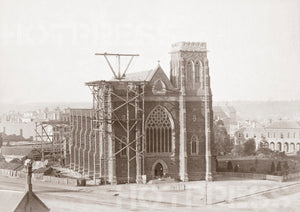 1872 St Patrick's Cathedral Under Construction