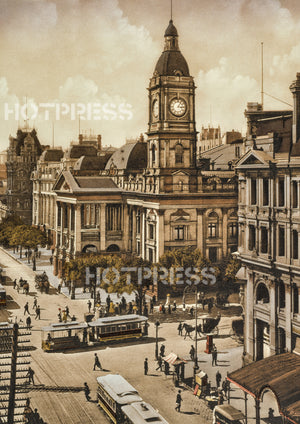 1910 Melbourne Town Hall