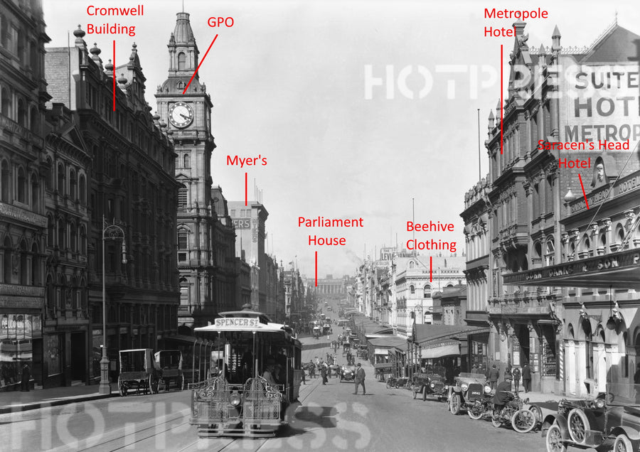 1920c Bourke Street looking east