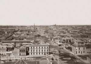 1869 Lonsdale St looking east from Queen Street