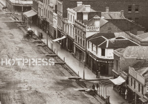 1867c Elizabeth Street looking south from GPO