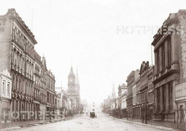 1880s Collins Street looking east