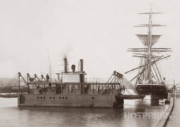 1885 Spencer Street Steam Ferry