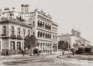 1888c Collins Street looking east from Spring Street