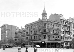 1926 Russell Street and Collins Street corner