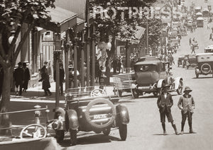 1920s Collins Street looking west