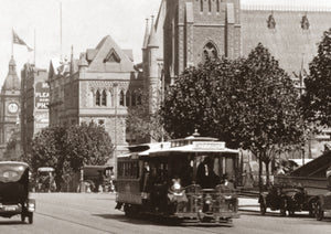 1925c Collins Street looking west