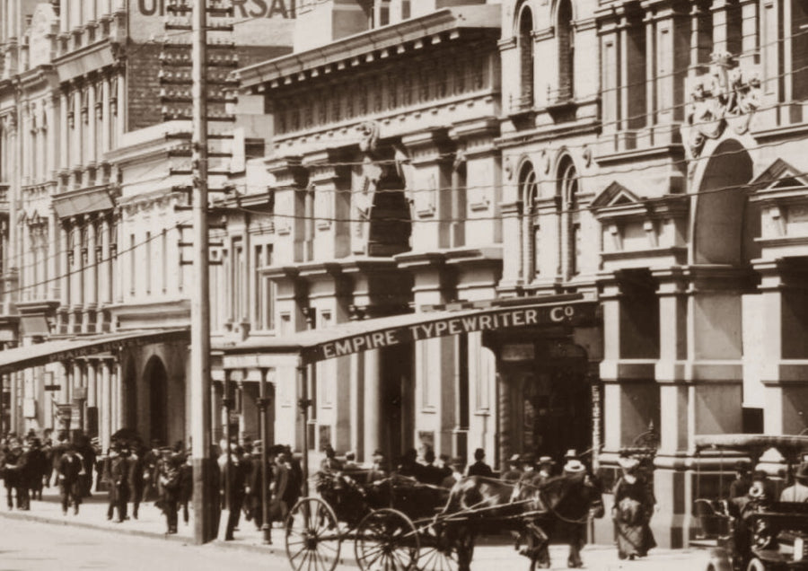 1905c Collins Street Looking East