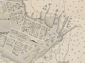 1864 Map of Melbourne