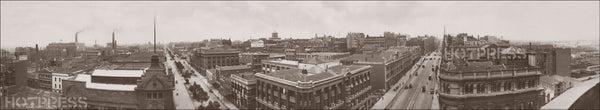 1920 King Street to Collins Street Panorama