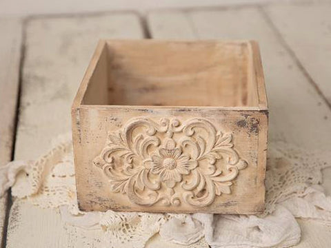 Double Sided Vintage Inspired Crate
