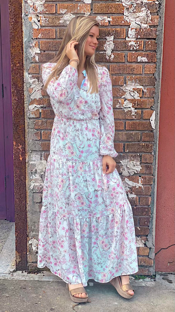 Fading like a flower maxi