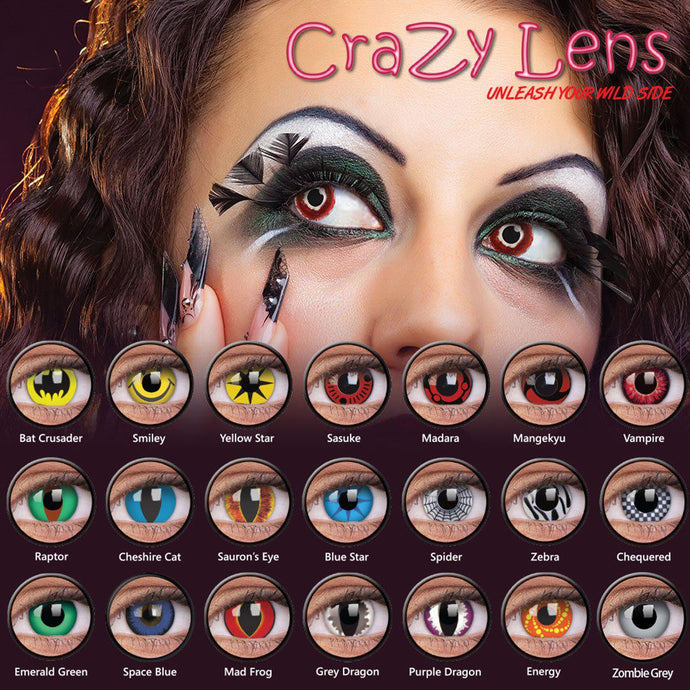 Halloween warning - Glasgow opticians find five out of six costume contact lens brands fail safety tests