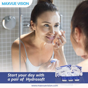 Maxvue Hydrosoft Monthly Disposable (2 Pcs)