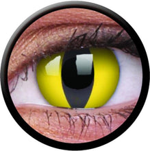 Load image into Gallery viewer, ColourVUE Crazy Lens Cat's Eye (Prescription)