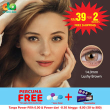 Load image into Gallery viewer, [BUY 1 FREE 1] ColourVUE Fizzy Lushy Brown 14mm