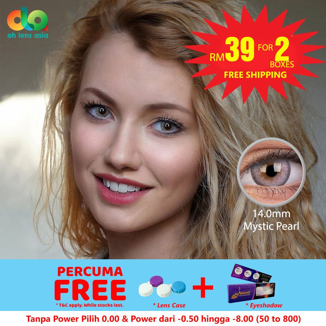 [BUY 1 FREE 1] ColourVUE Fizzy Mystic Pearl 14mm
