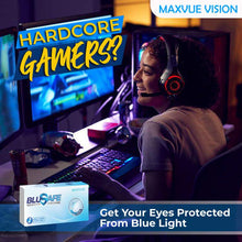 Load image into Gallery viewer, Maxvue BluSAFE 14.2mm Monthly Disposable (6pcs)