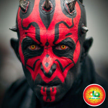 Load image into Gallery viewer, (US) ColourVUE Crazy Lens Darth Maul