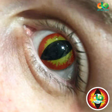 Load image into Gallery viewer, ColourVUE Crazy Lens Dragon Eyes (Prescription)