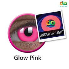 Load image into Gallery viewer, ColourVUE UV Glow Lens Pink