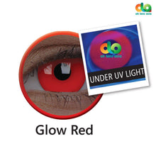 Load image into Gallery viewer, ColourVUE UV Glow Lens Red