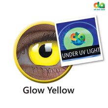Load image into Gallery viewer, ColourVUE UV Glow Lens Yellow