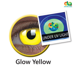 ColourVUE UV Glow Lens Yellow