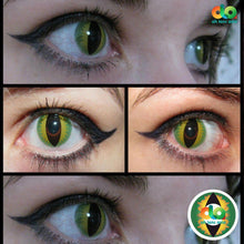 Load image into Gallery viewer, ColourVUE Crazy Lens Green Dragon (Prescription)