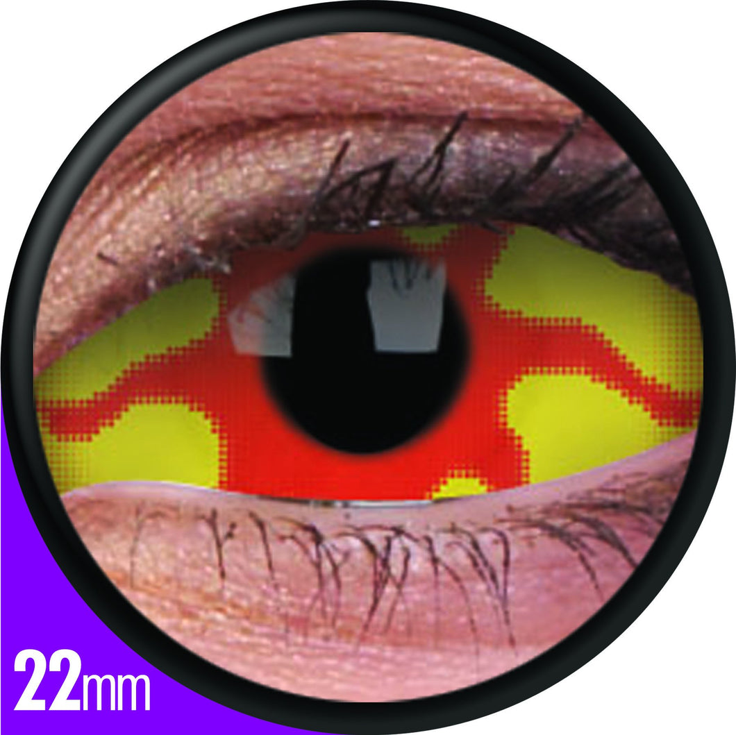 ColourVUE 22mm Sclera Lens Nemesis