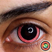 Load image into Gallery viewer, ColourVUE 17mm Mini Sclera Lens Ravenous