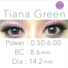 Load image into Gallery viewer, Flash Fairy Tiana Green 14.2mm