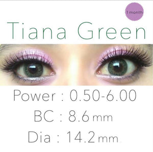 Flash Fairy Tiana Green 14.2mm