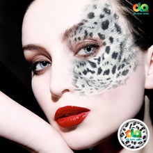 Load image into Gallery viewer, ColourVUE Crazy Lens White Leopard