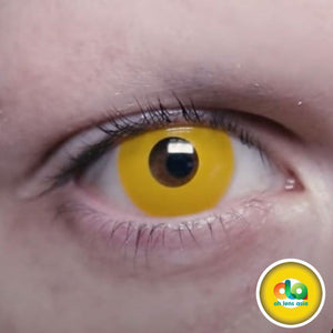 (US) ColourVUE Crazy Lens Yellow