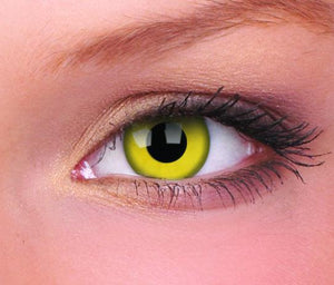 ColourVUE Crazy Lens Yellow (Prescription)