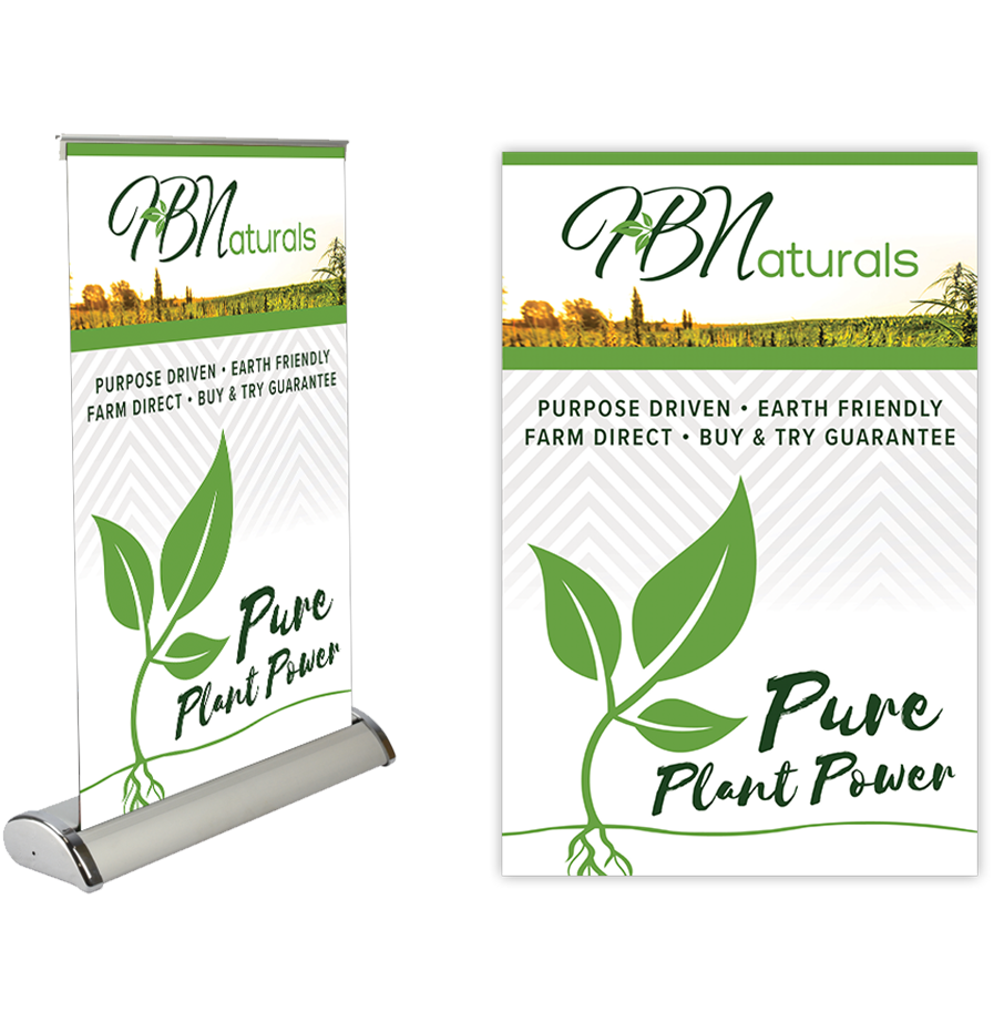 Table Top Mini-Retractable Banner