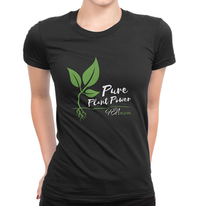 Pure Plant Power Tee - Women