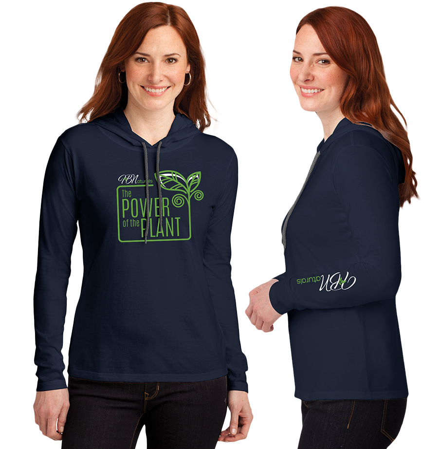 Power of the Plant Long Sleeve Hoodie - Women
