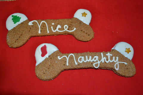 "Christmas Oversized ""Naughty"", ""Nice"" or 1 of each!"