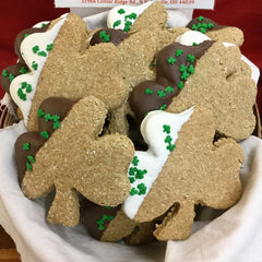 Peanut Butter Oat Shamrock Treat