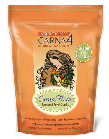 Carna Flora Sprouted Seed Snacks 16 oz