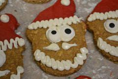 Coconut Oat Santa Treat