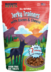 Bounty Bites Jerky Trainers Bacon & Cheese 4 oz
